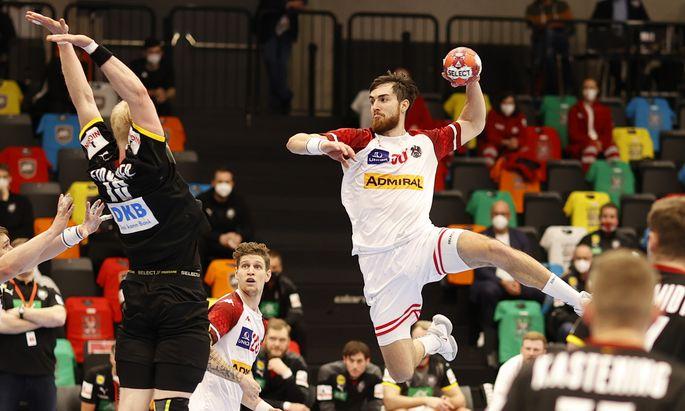 Boris Zivkovic (sieben Tore) war einer der Lichtblicke im ÖHB-Team.