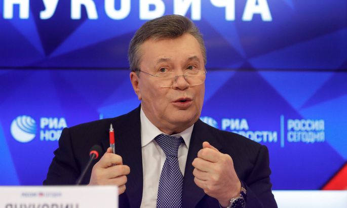 Meldete sich am Mittwoch aus dem russischen Exil zu Wort: der frühere ukrainische Präsident Viktor Janukowitsch (68).