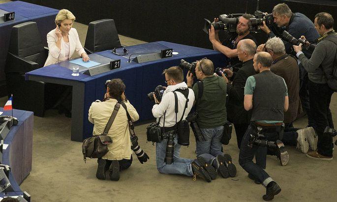 """Ursula von der Leyen hat seit ihrem Amtsantritt immer wieder betont, die europäische Wirtschaft klimaneutral umzubauen - eine """"Chance"""" sei das."""