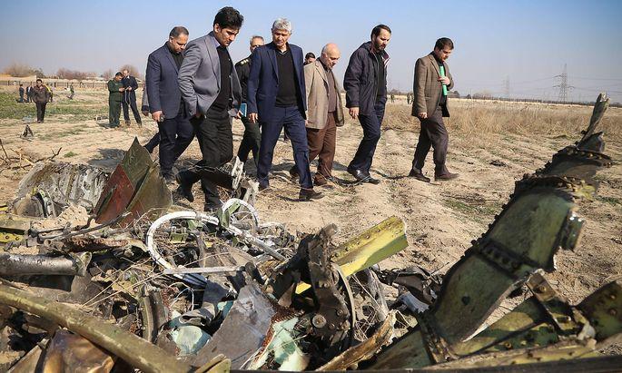 January 8, 2020, Tehran, Tehran, Iran: CEO of Imam Khomeini International Airport City Company, Mohammad Mehdi Karbalai
