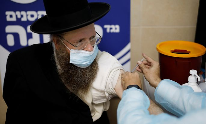 Israel ist das Vorzeigeland für eine schnelle Durchimpfung der Bevölkerung.