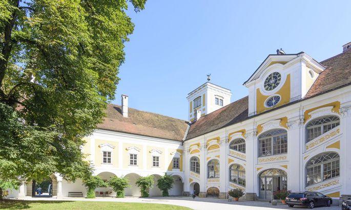 Schloss Tillysburg in St. Florian an der Donau.
