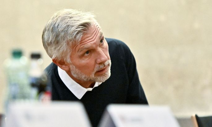 Der Zweitangeklagte Walter Meischberger