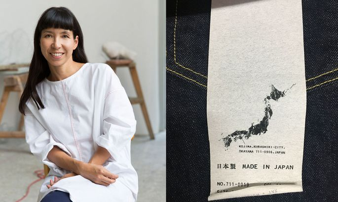 Self-made. Vivien Sakura Brandl suchte nach speziellen Denimstoffen in Japan.