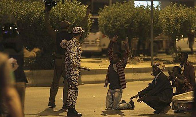 Saudische Sicherheitskräfte nehmen Äthiopier fest