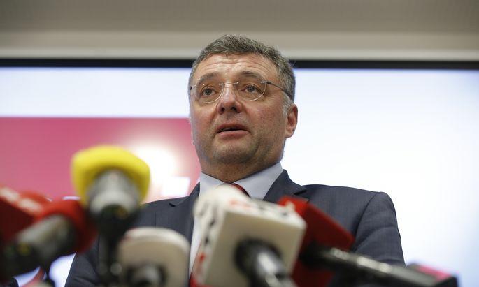 SPÖ-Klubobmann Jörg Leichtfried.