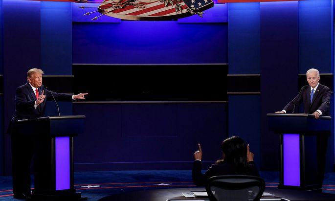 TV-Duell zwischen Donald Trump und Joe Biden