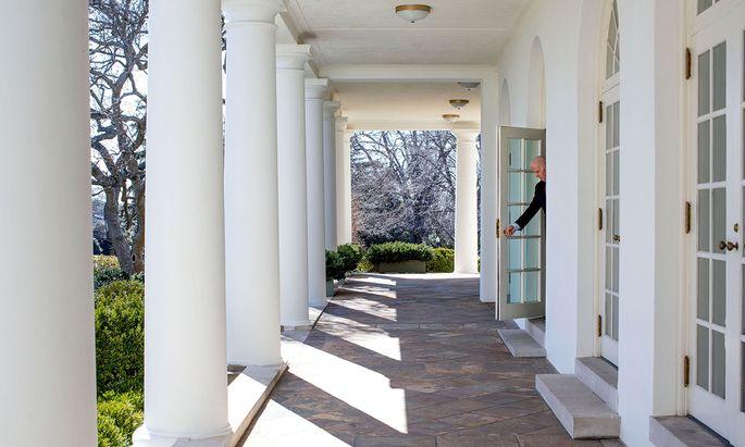 Zurück im Weißen Haus: Joe Biden (hier auf einem Archivbild von 2014) tritt nach dem Wahlsieg von Georgia gestärkt seine Präsidentschaft an.