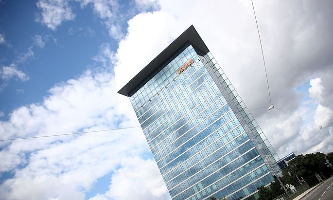 The headquarters of lamp manufacturer Osram is pictured in Munich