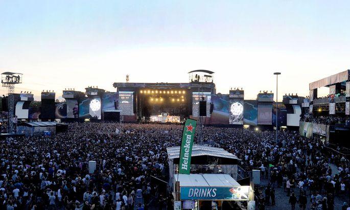 Das Frequency-Festival wurde heuer abgesagt (Archivbild).