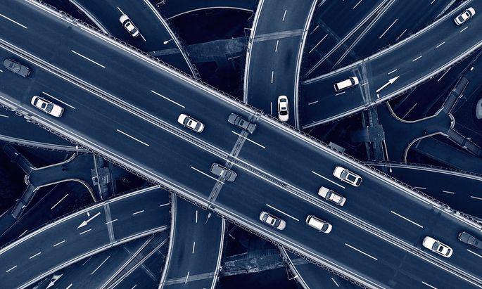 Wohin geht die Reise? Der Autoverkehr steht derzeit im Zentrum des Umweltalarmismus.
