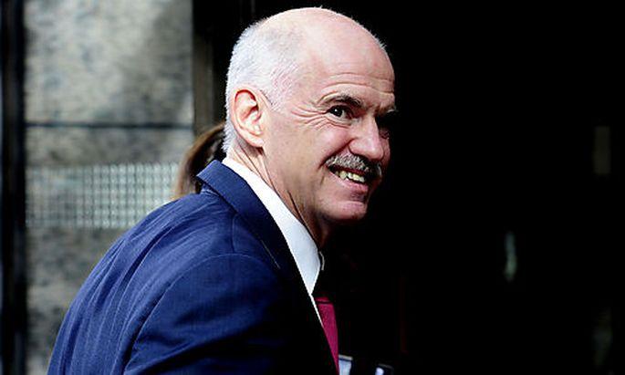 George Papandreou hat im letzten Jahr erfolgreich gespart