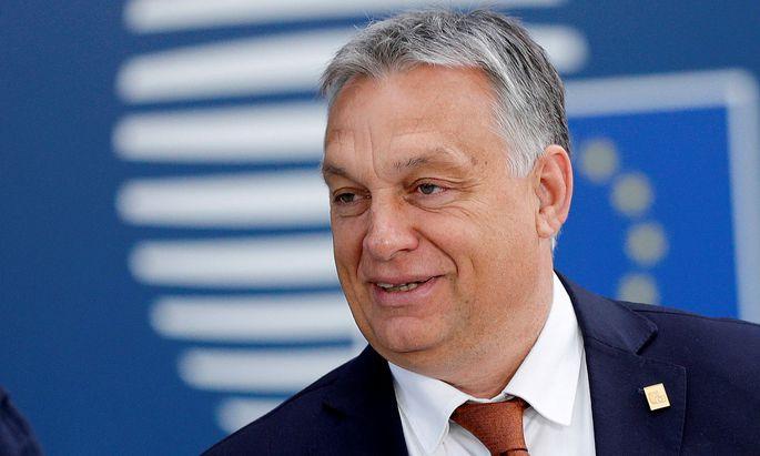 Viktor Orban auf einem Archivbild