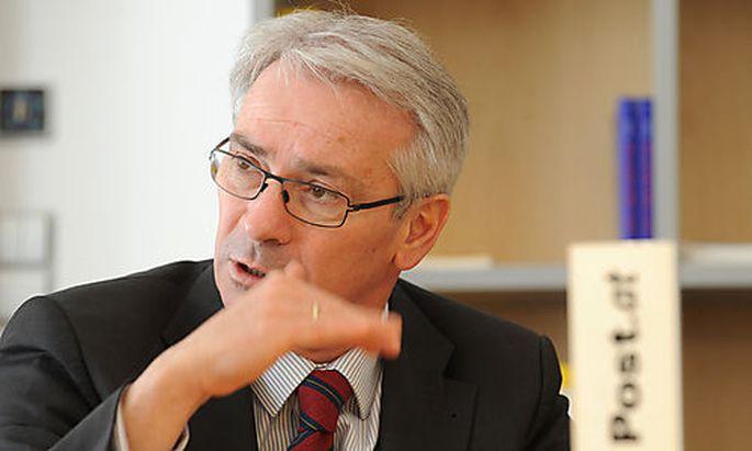 Dr. Georg P�lzl, Vorsitzender des Vorstandes der �sterreichischen Post AG Photo: Michaela Bruckberge