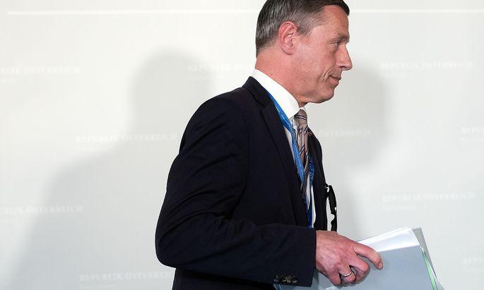 Der Sektionschef des Justizministeriums, Christian Pilnacek, war in der Causa Eurofighter ins Visier der Staatsanwaltschaft geraten.