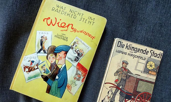 """Zeitdokument. Ludwig Hirschfeld, Autor des City-Guides der Reihe """"Was nicht im Baedeker steht"""", galt seit dem Buch """"Das klingende Wien"""" (1912) als journalistischer Stadtexperte."""