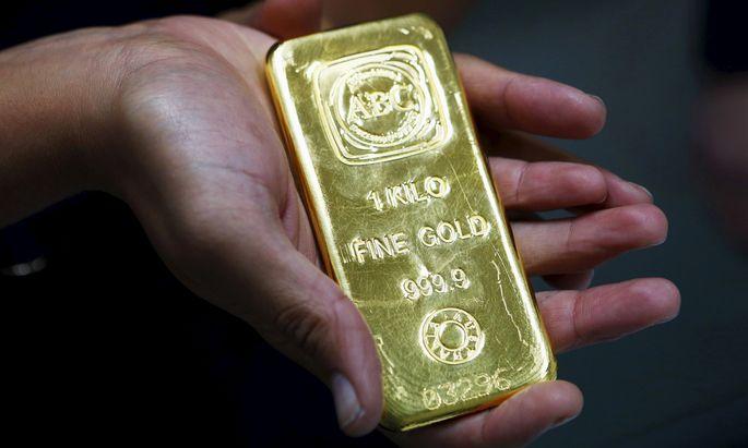 Der Goldpreis steigt rasant.