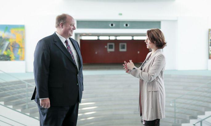 Edstadler trifft Kanzleramtsminister Helge Braun