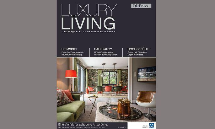 Cover Luxury Living
