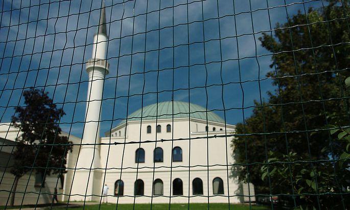 Das islamische Zentrum in Wien Floridsdorf