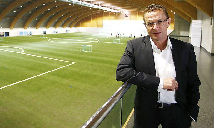 Ralf Rangnick will Leipzig möglichst bald in der Bundesliga sehen.