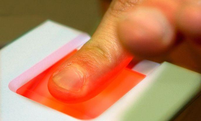 Der Fingerabdruck reicht nicht mehr aus.
