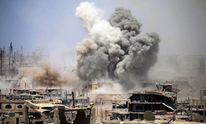 NGO werfen der US-Luftwaffe eine Eskalation ihrer Angriffe vor.