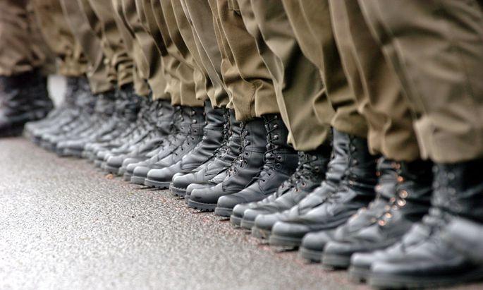 Soldaten des österreichischen Bundesheeres