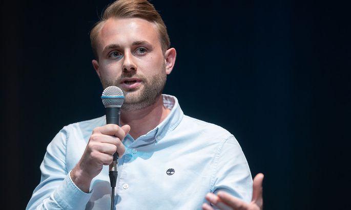 AG-Spitzenkandidat Dominik Ramusch