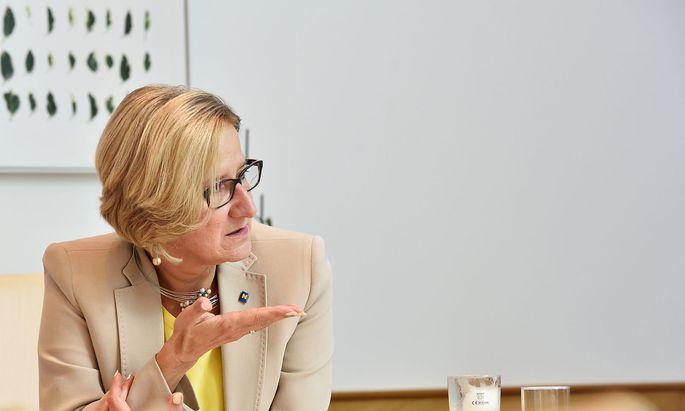 Landeshauptfrau Johanna Mikl-Leitner