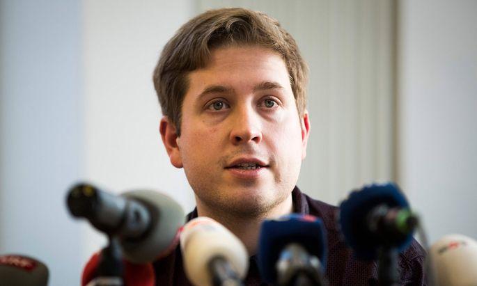 Rädelsführer der Jusos und der Parteilinken: Kevin Kühnert.