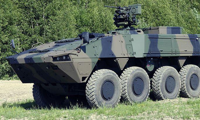 Archivbild - Patria-Panzer: Lobbyist in Wien verurteilt