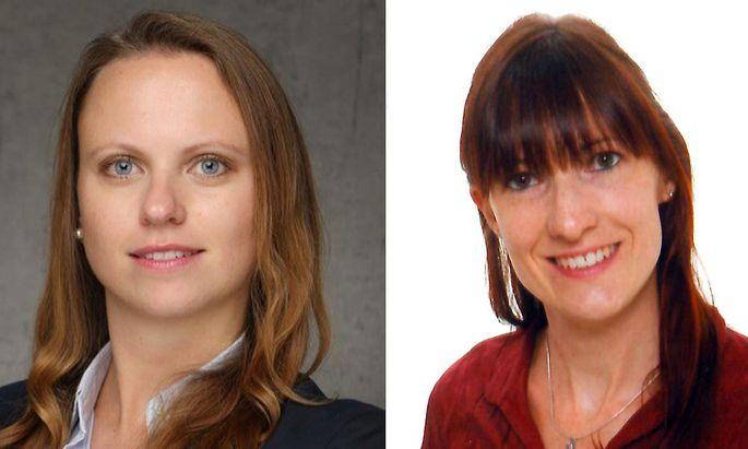 Beatrix Fartek-Pap und Alice Meyer