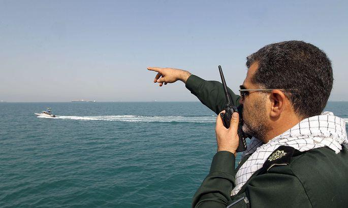 Ein Mitglied der iranischen Revolutionsgarden auf einem Archivbild.