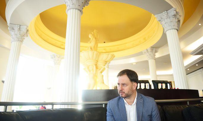 """""""Ansprechen, was ist"""" – auch in der Migration: Roland Fürst, seit August SPÖ-Landesgeschäftsführer. ["""