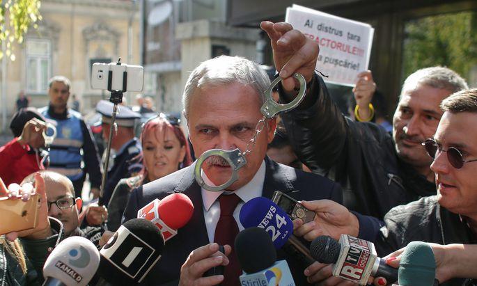 Liviu Dragnea, Parteichef der rumänischen Sozialisten, steckt hinter der Regierungskampagne gegen Brüssel und die freie Justiz.