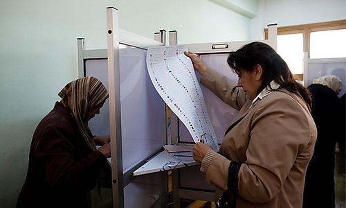 Bei den Parlamentswahlen in Aegypten gewannen die Muslimbrüder 38 Prozent dfer Listenplätze