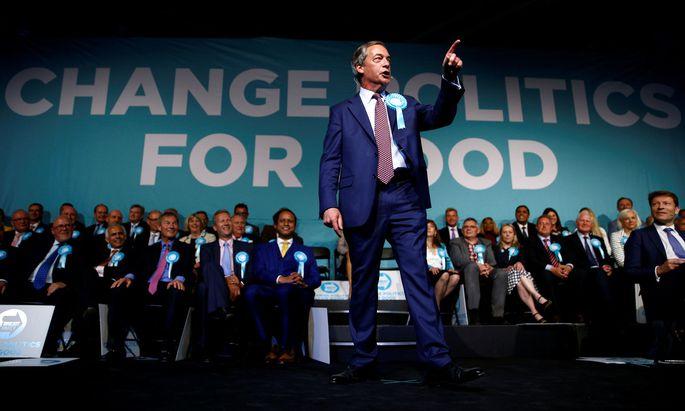 Die Brexit Party des Europaabgeordneten und EU-Gegners Nigel Farage ist drauf und dran, die größte Einzelpartei im neuen Europaparlament zu werden.