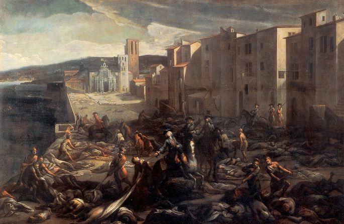 1720: Die Pest in Marseille.