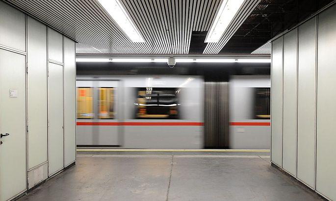 Symbolbild: Eine U-Bahn der Wiener Linien