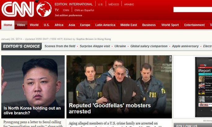 Screenshot CNN