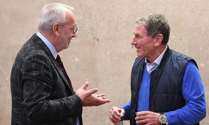Rudolf Fischer und Peter Hochegger
