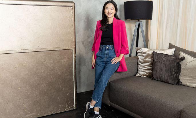 Unternehmerin und Youtuberin Joanna Zhou gehört zu den neuen Integrationsbotschafterinnen.