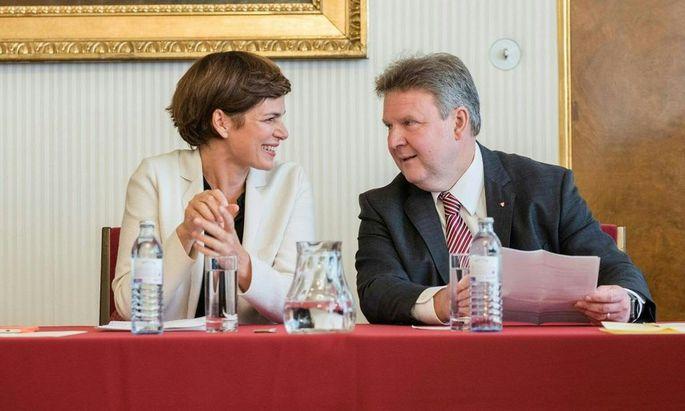 Pamela Rendi-Wagner und Michael Ludwig