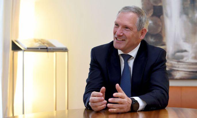 Meinhard Platzer, Co-CEO der LGT Bank Österreich