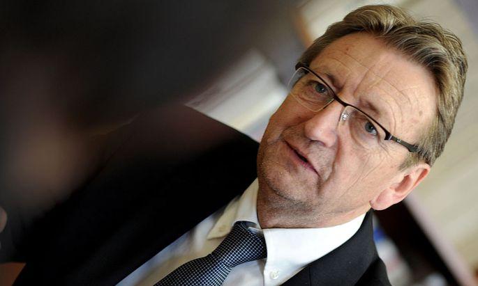 Salzburgs FP-Chef Karl Schnell