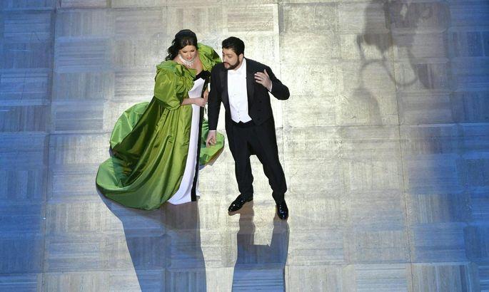 Yusif Eyvazov mit seiner Frau Anna Netrebko