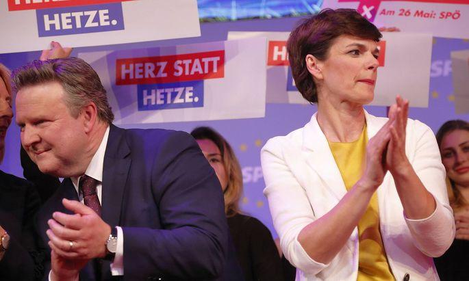 EU Wahl Wahlkampfabschluss SP� Wien Festzelt L�welstra�e 24 05 2019 Europawahlen Wahl Wahlen 201