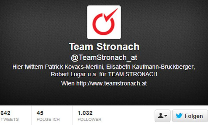 Team Stronach Bucher fehlen