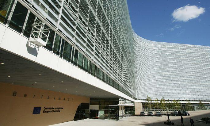Das Berlaymont-Gebäude in Brüssel.